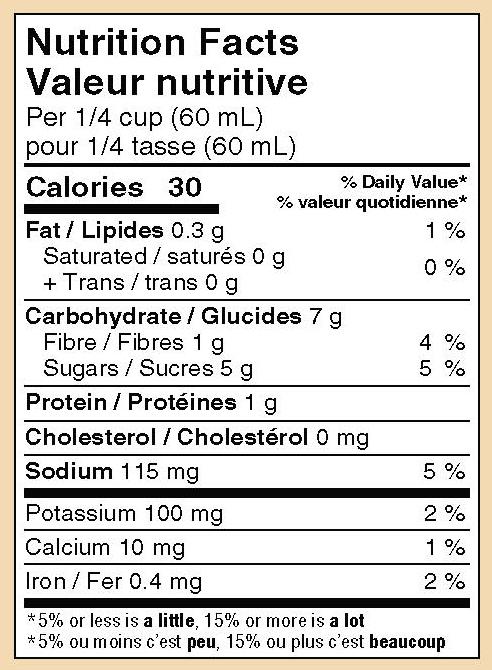 mikes-salsa-hot-pineapple-salsa-nutrition
