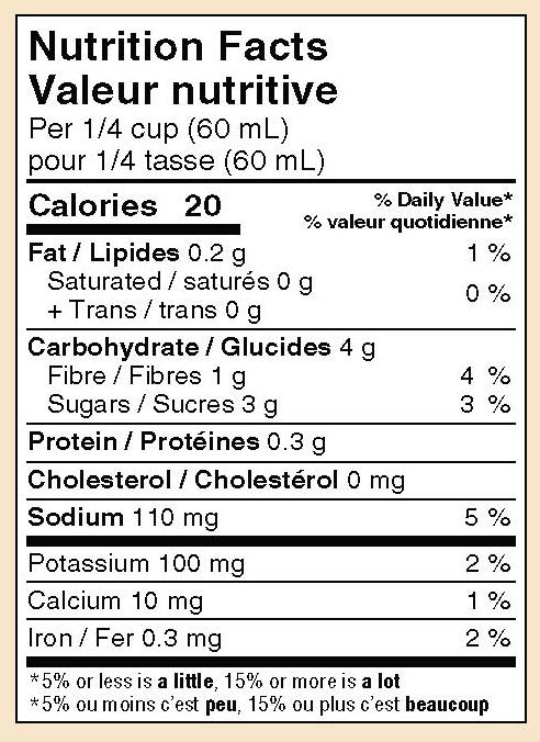 mikes-salsa-hot-tomato-salsa-nutrition