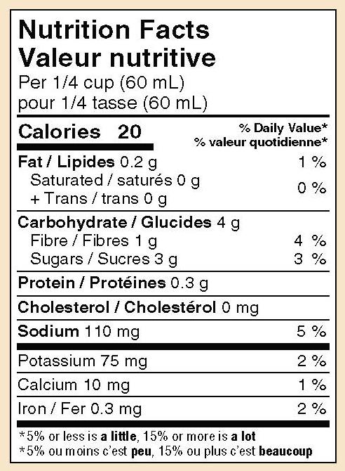 mikes-salsa-mild-tomato-salsa-nutrition