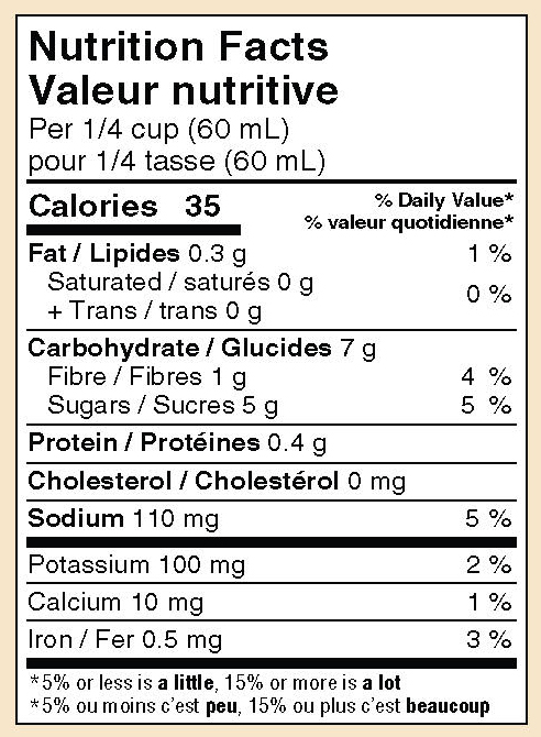 mikes-salsa-hot-anise-salsa_nutrition-facts