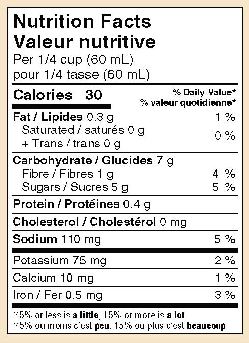 mikes-salsa-mild-anise-salsa_nutrition-facts